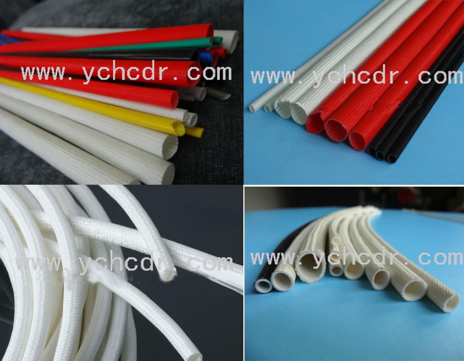 硅树脂玻璃纤维套管 高温管--电加热管 电热丝 电炉
